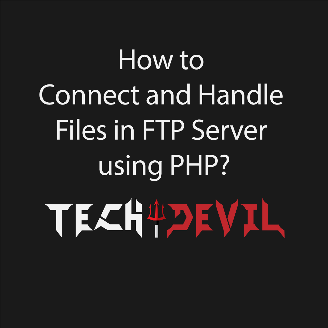 ftp server using php